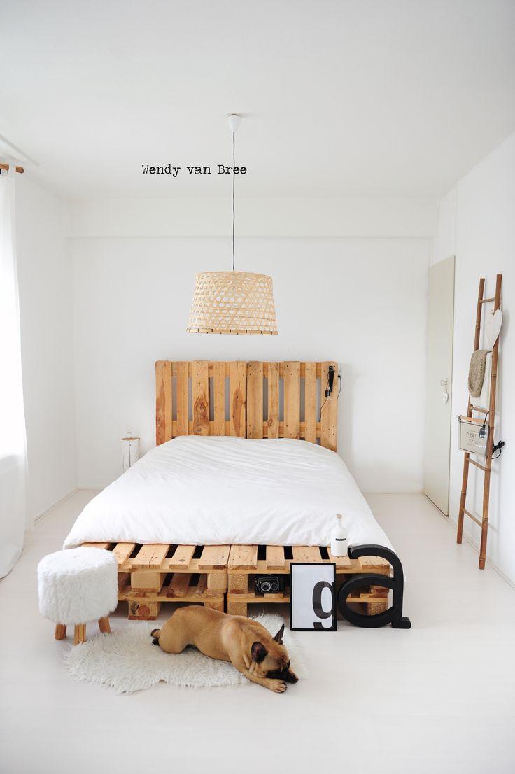 Brocante slaapkamer behang ~ [Spscents.com]
