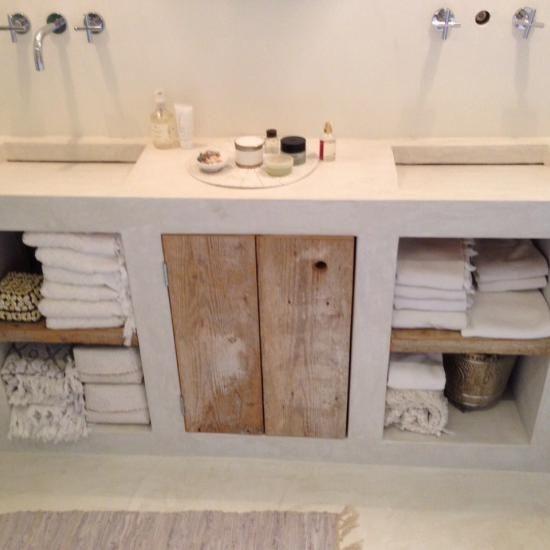 Badkamer wastafelmeubel home design idee n en meubilair inspiraties - Meubel design badkamer ...