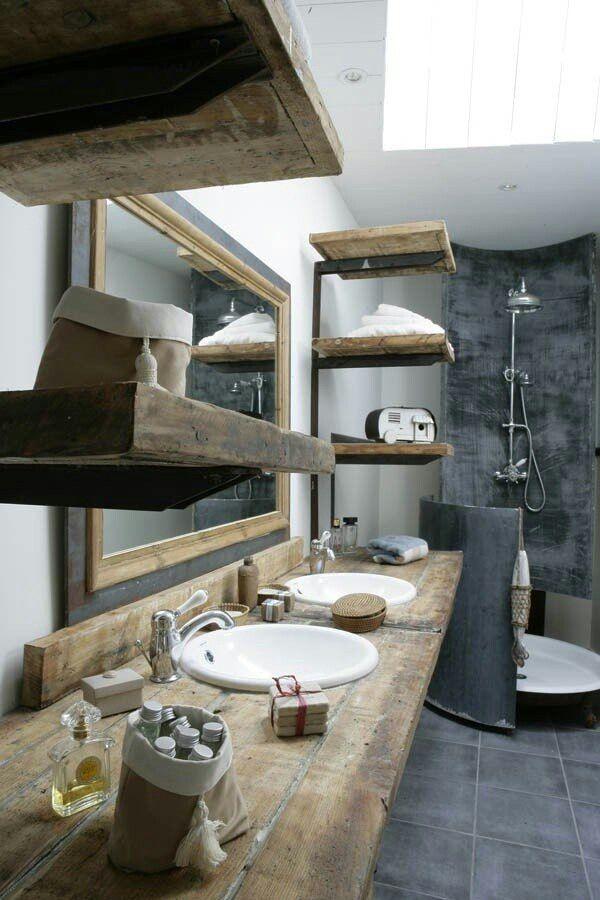 Wedi Bouwplaat Badkamer ~   trend is beton, pas dit toe door een muur met betonlook te verven
