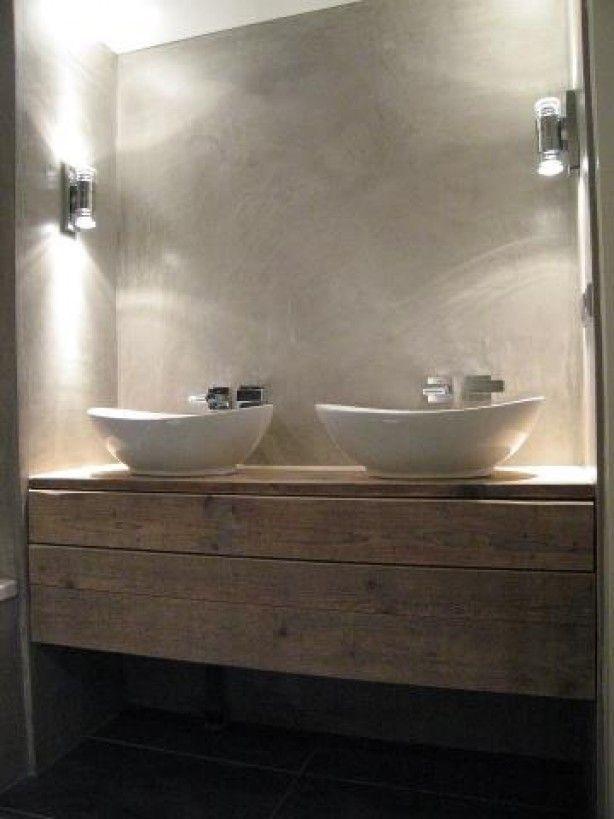 Wooninspiratie wonen doe je zo - Houten meubels voor badkamers ...